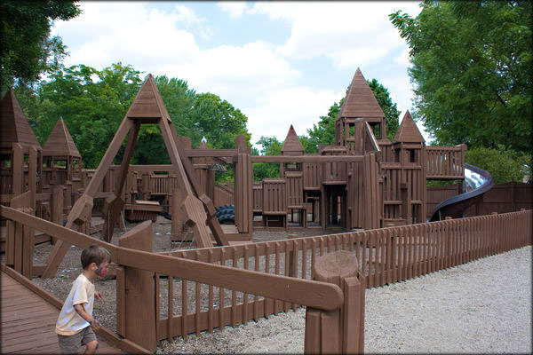 Oaklandon Play Park 2011