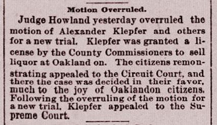 Motion Overruled.